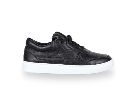 B-Star Sneakers – Black Leather