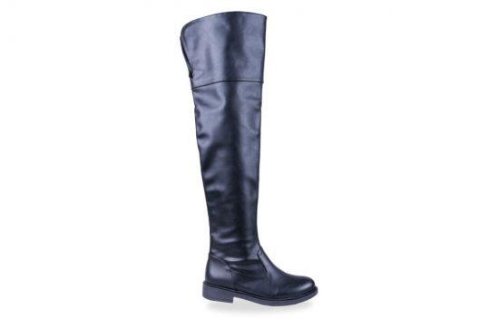 Dana Boots - Black Leather