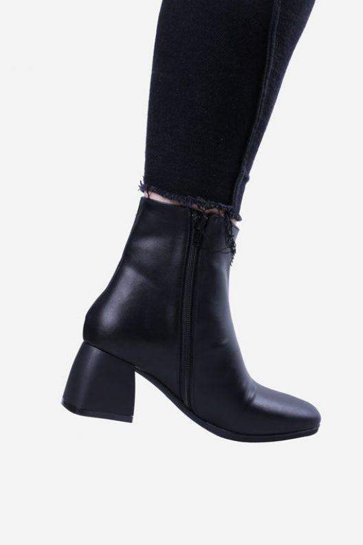Clara Boots - Black Leather
