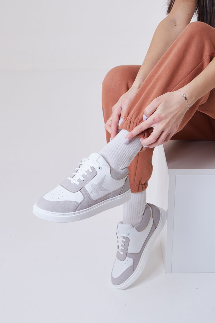 New B-Star Sneakers - White