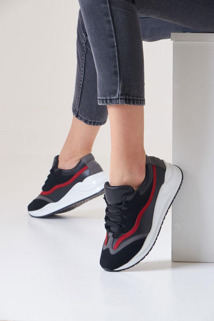 Sky Sneakers - Black