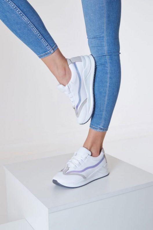 Sky Sneakers - White