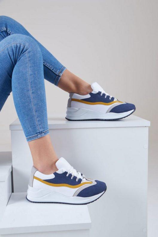 Sky Sneakers - Navy