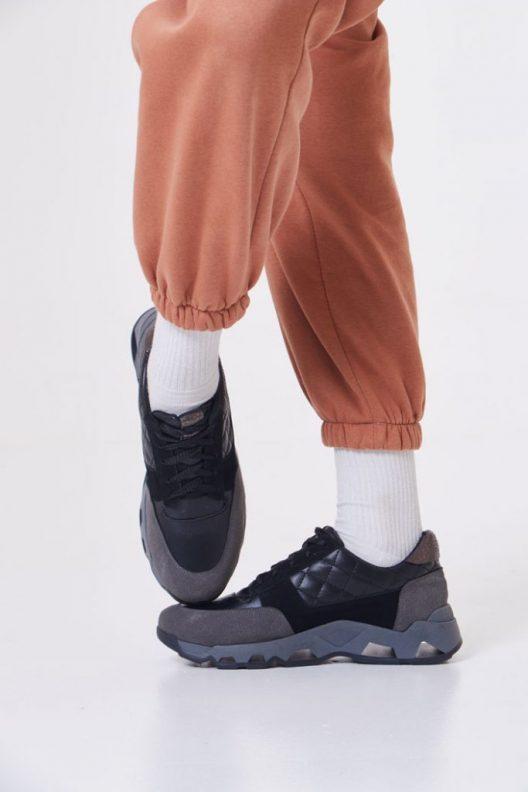 Diego Sneakers - Grey Black