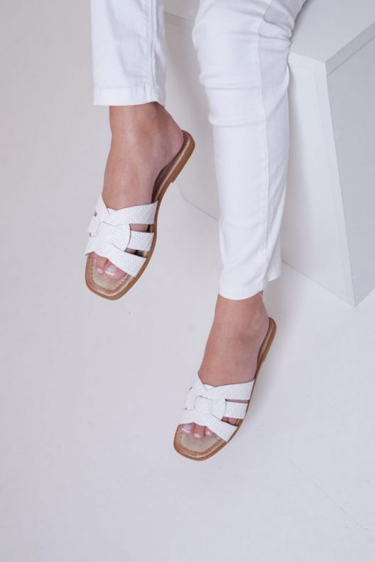Perla Flats - White