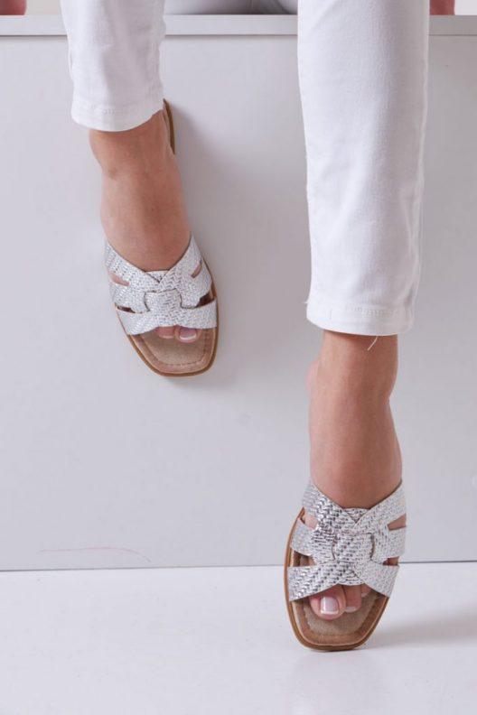 Perla Flats - Silver