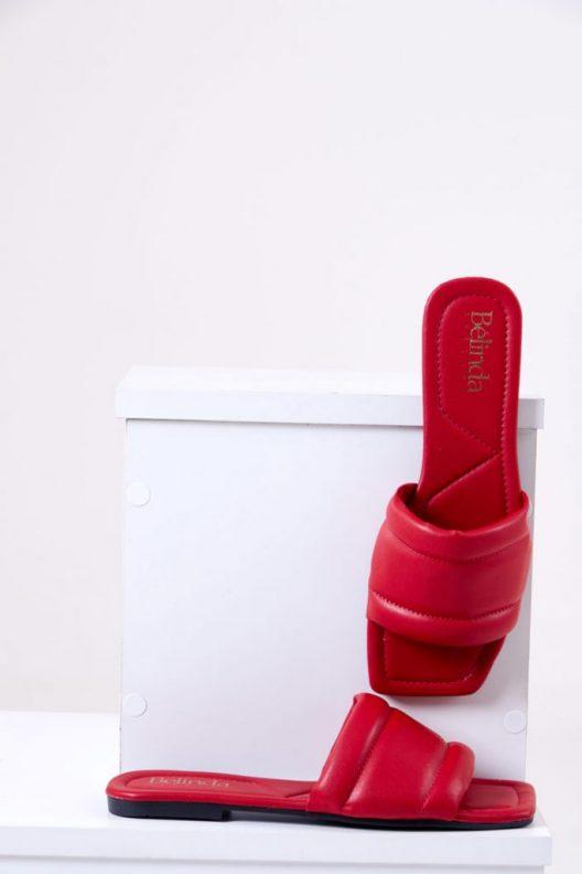 Dora Flats - Red
