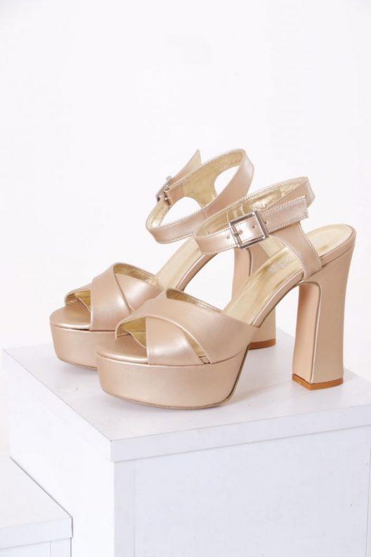 Amber Scarpin - Gold
