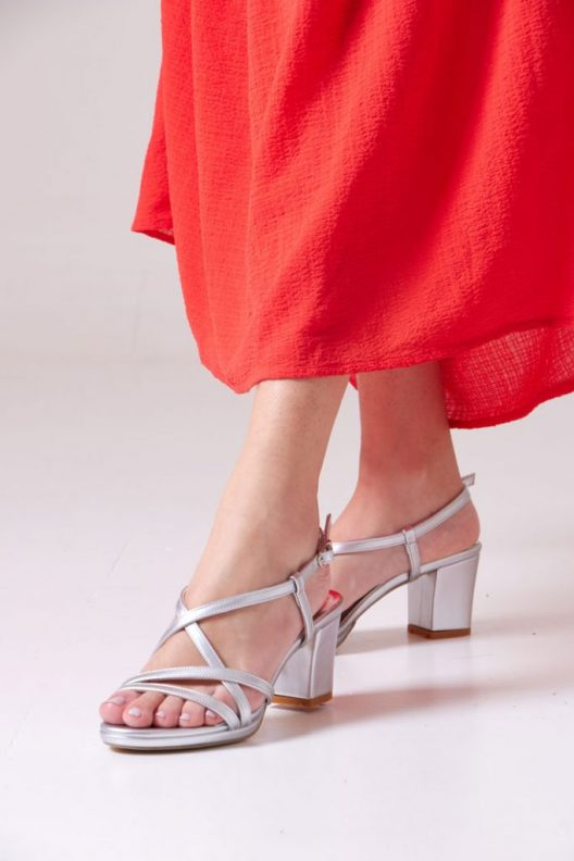 Terry Sandals - Silver