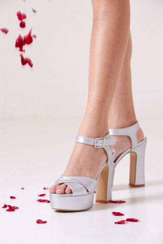 Amber Scarpin - Silver