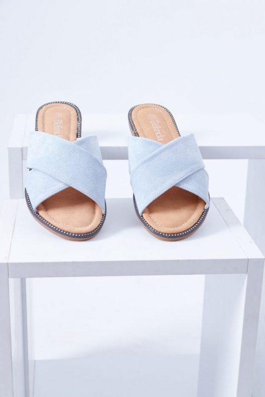 Alice Flats - Plain Blue