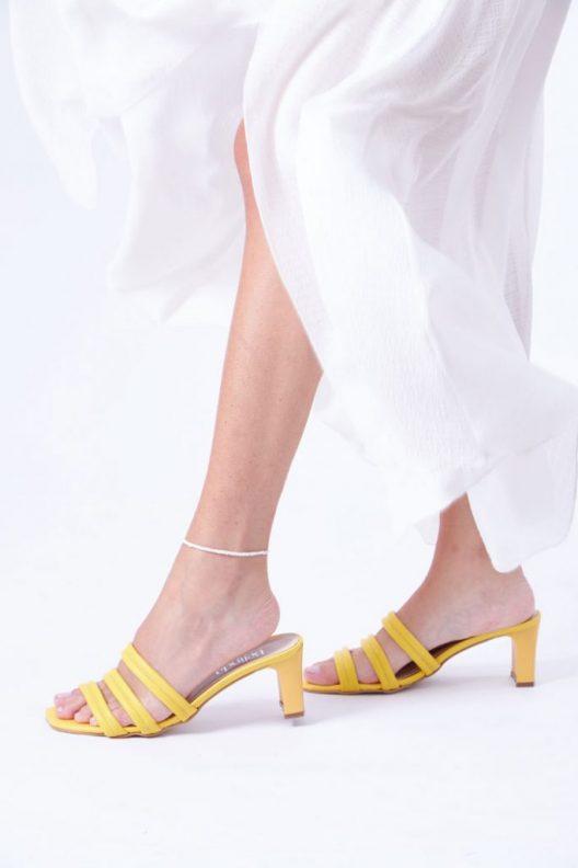 Reine Scarpin - Yellow