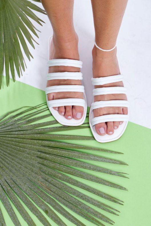 Sia Flats - White