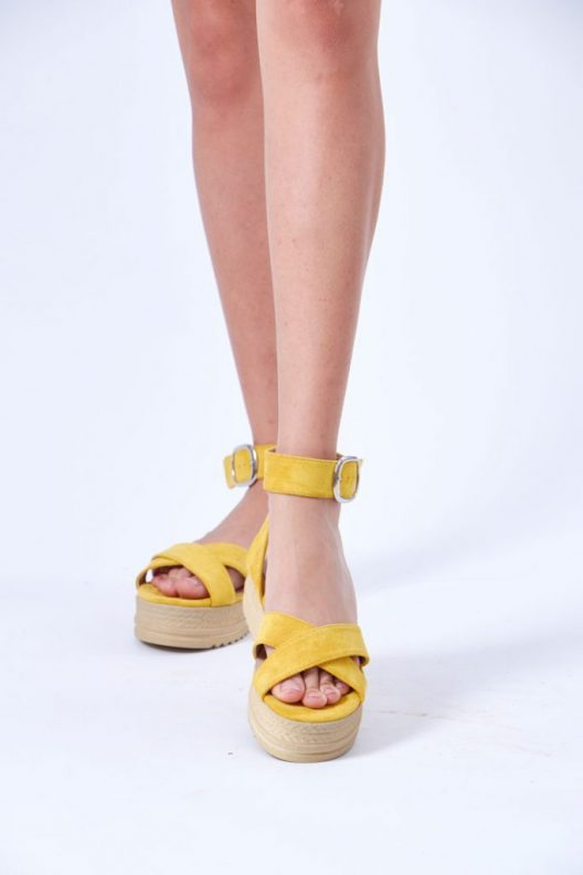 Kelly Sandals - Yellow